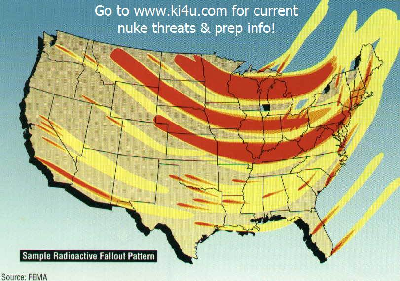 Nuclear War Fallout Shelter Survival Info For Florida With FEMA - Us nuclear power plants map florida