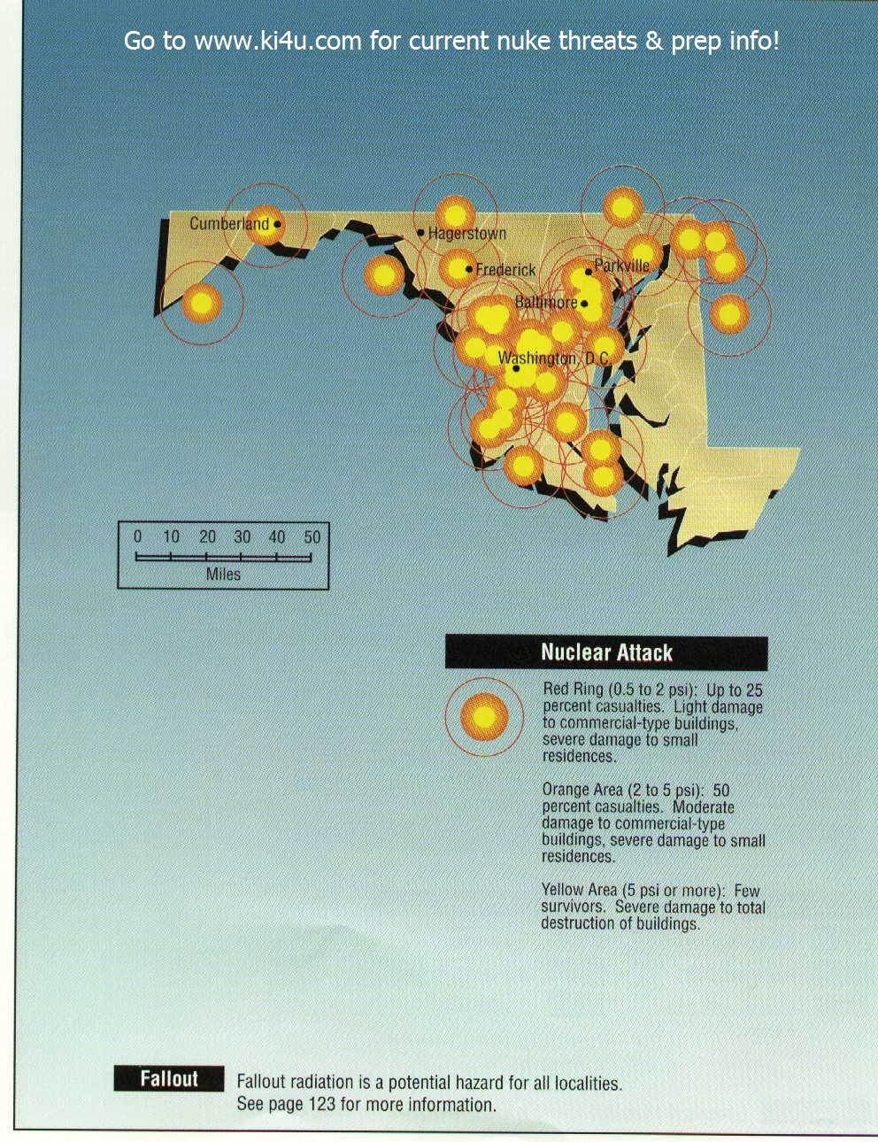 Maryland targets Nuclear War Fallout Shelter