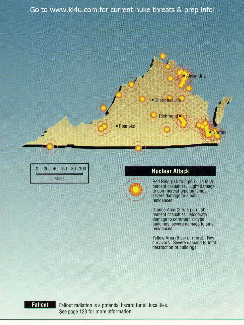 Fema Camps In Oregon Map.Nuclear War Fallout Shelter Survival Info For Virginia With Fema